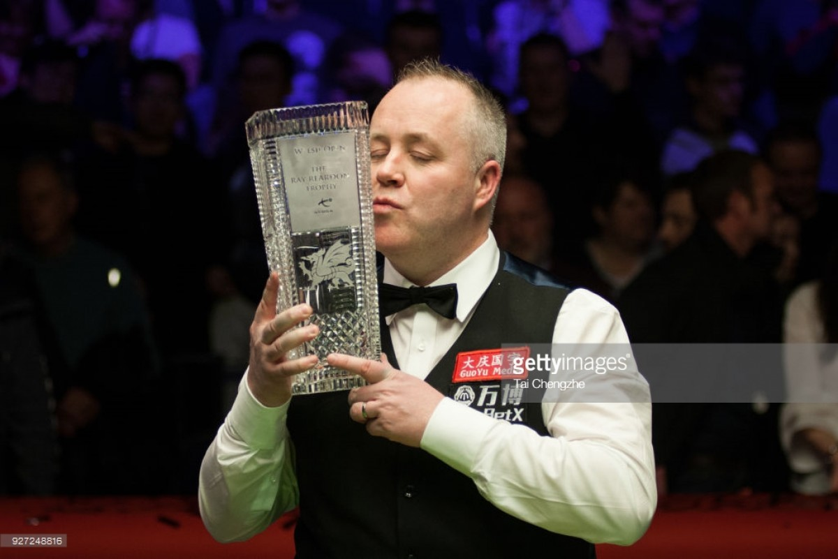 John Higgins wins record fifth Welsh Open crown