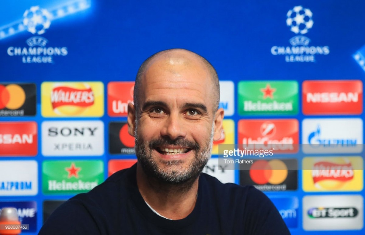 Pep Guardiola insists his Manchester City side need to remain focused ahead of Basel second-leg