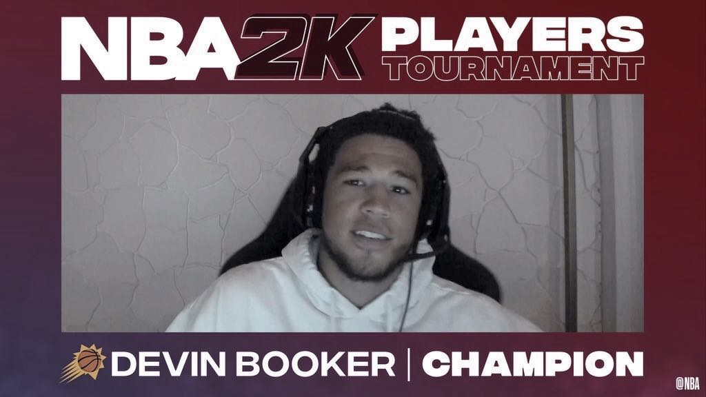 Devin Booker wins '2K' players-tournament