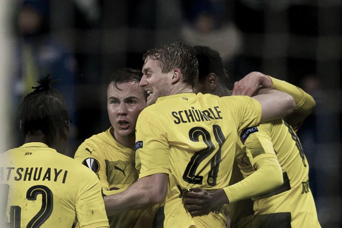 Em busca de conquistas, Borussia Dortmund e Red Bull Salzburg abrem disputa na Europa League