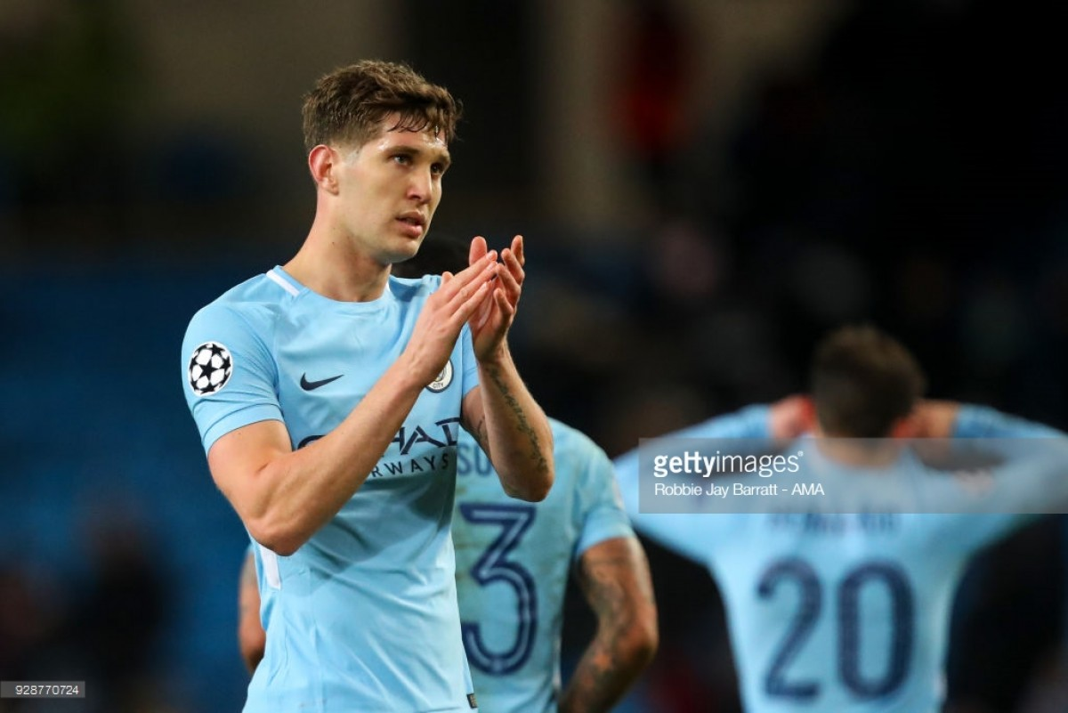 John Stones admits 'difficult' period at Manchester City after losing starting spot