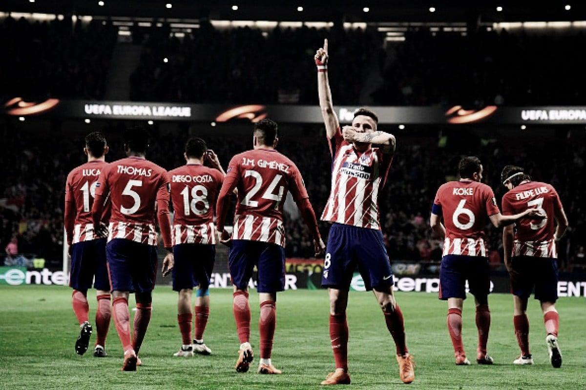 Atletico de Madrid goleia Lokomotiv Moscou e encaminha classificação as quartas da UEL