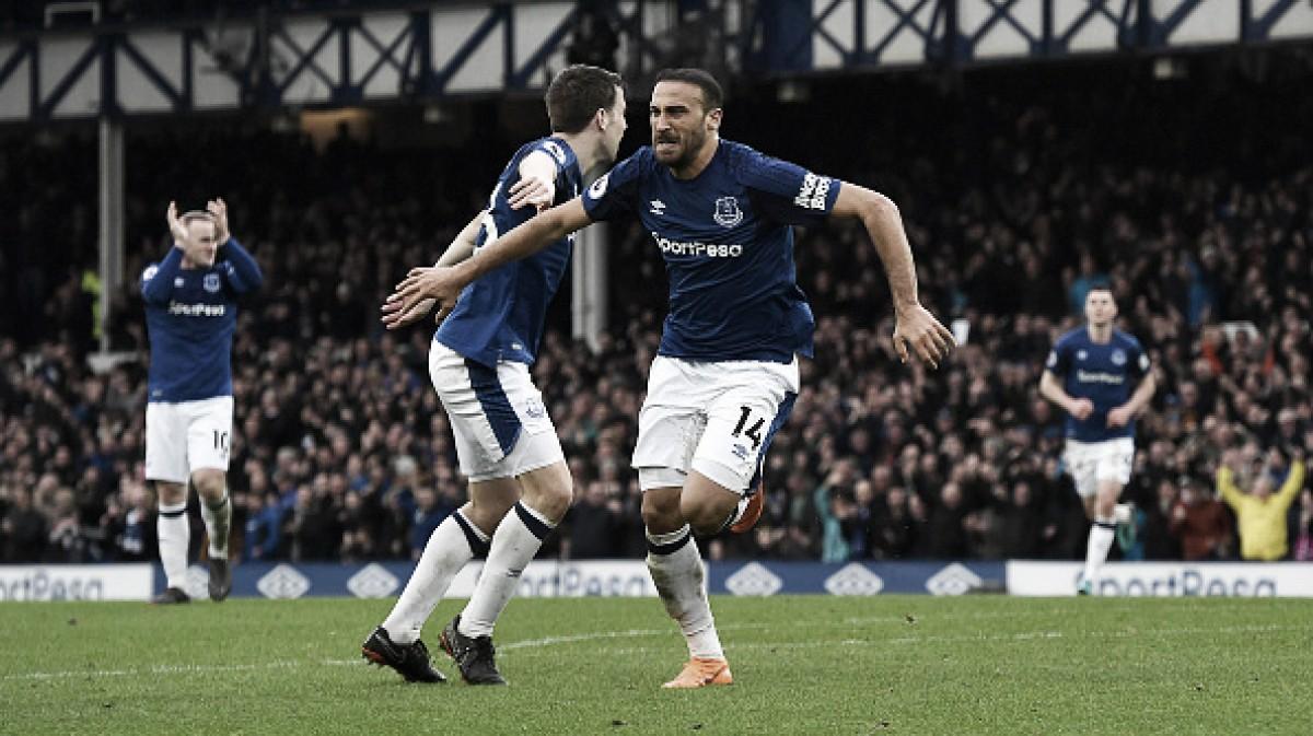 Everton vence Brighton e se aproxima da zona da UEL