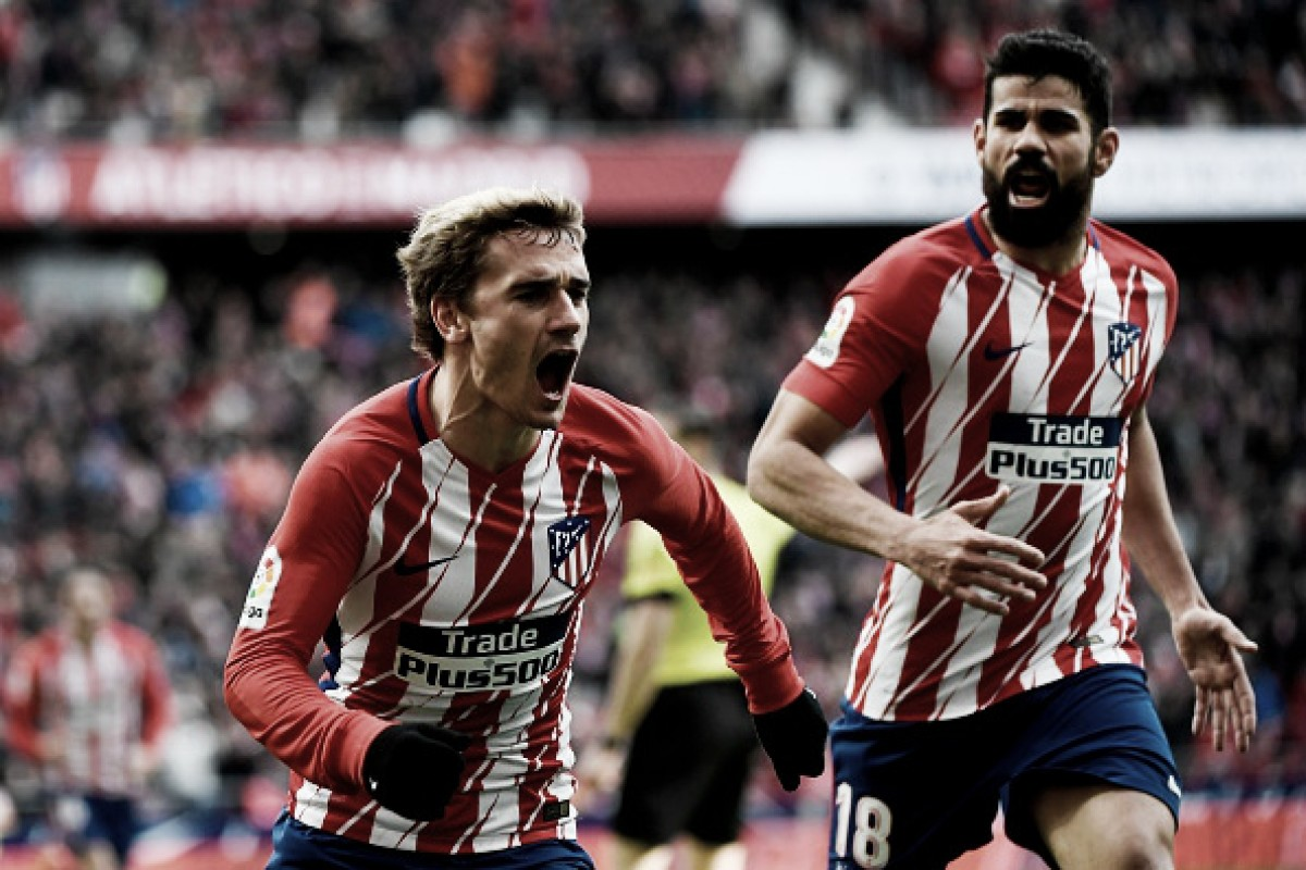 Atletico de Madrid goleia Celta e segue sonhando com título do Espanhol