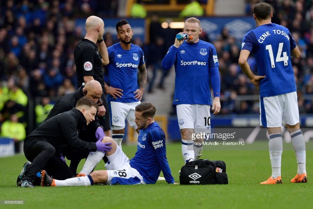 "Gylfi Sigurdsson says he is making ""steady progress"" in recovery from knee injury"