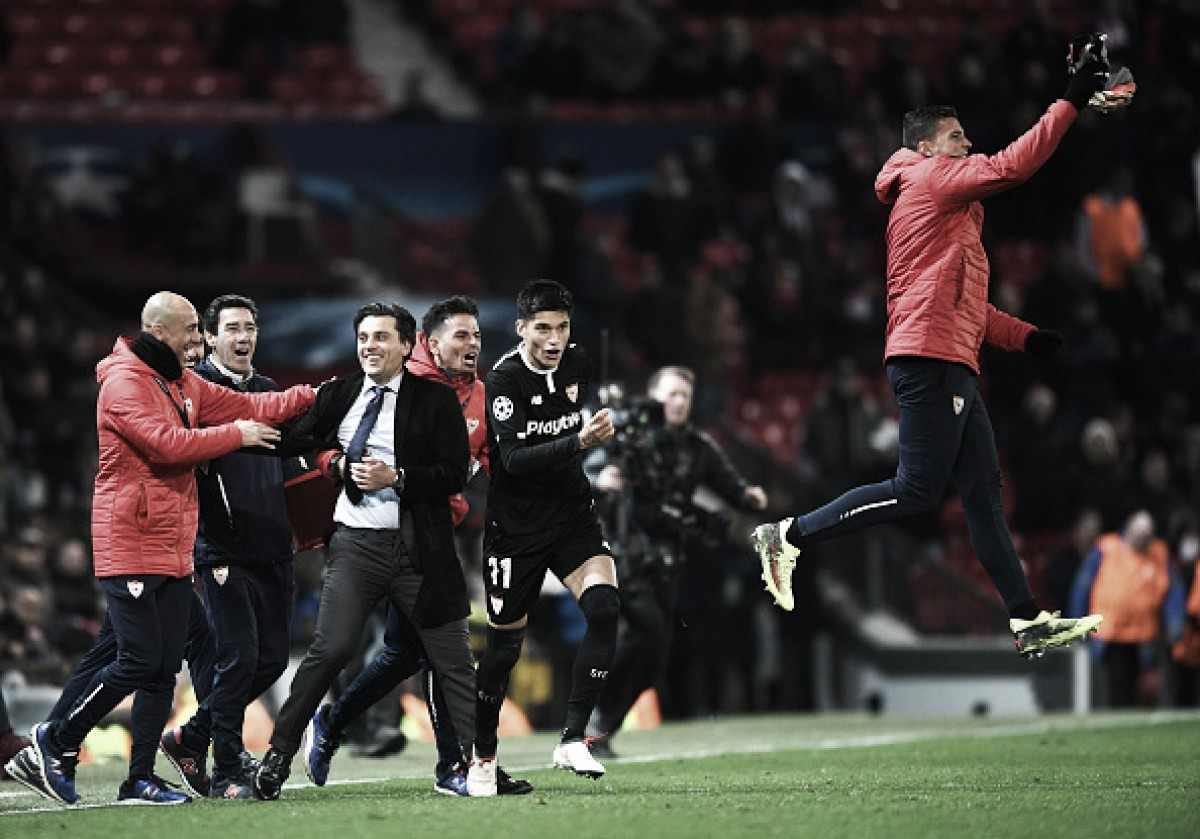 'Rei da Europa League', Sevilla volta a disputar quartas de final da Champions League após 60 anos
