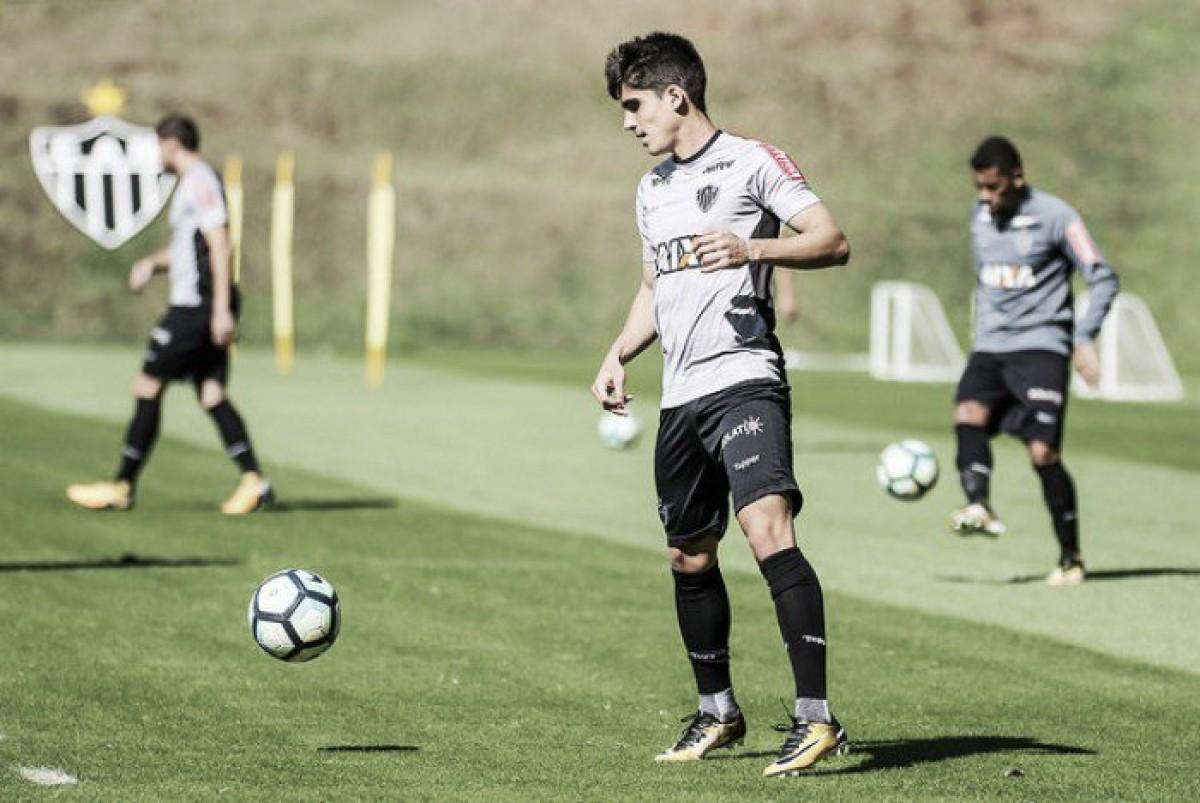 Gustavo Blanco tem lesão constatada e é dúvida para a próxima partida do Atlético-MG