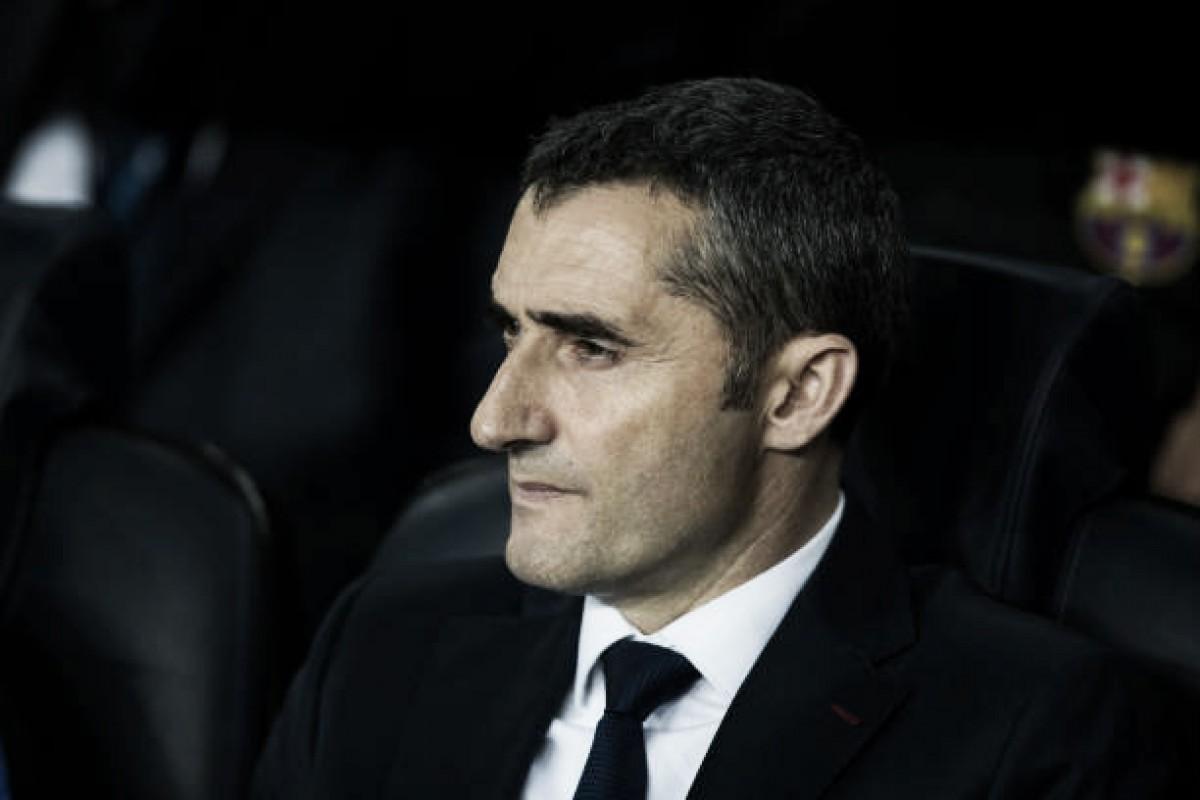 """Após vitória e classificação, Valverde se rende ao show de Messi: """"É um luxo tê-lo no time"""""""
