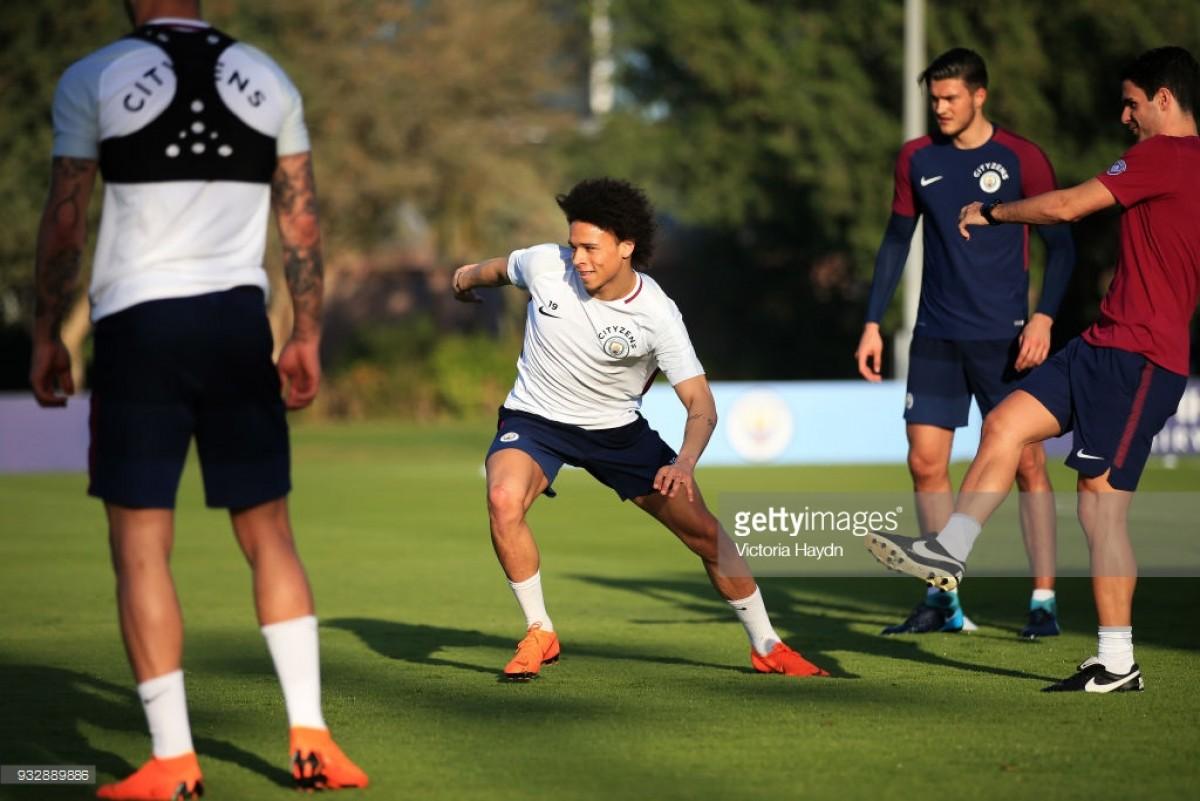 Leroy Sané praises Pep Guardiola as the 'perfect coach' during Abu Dhabi training camp