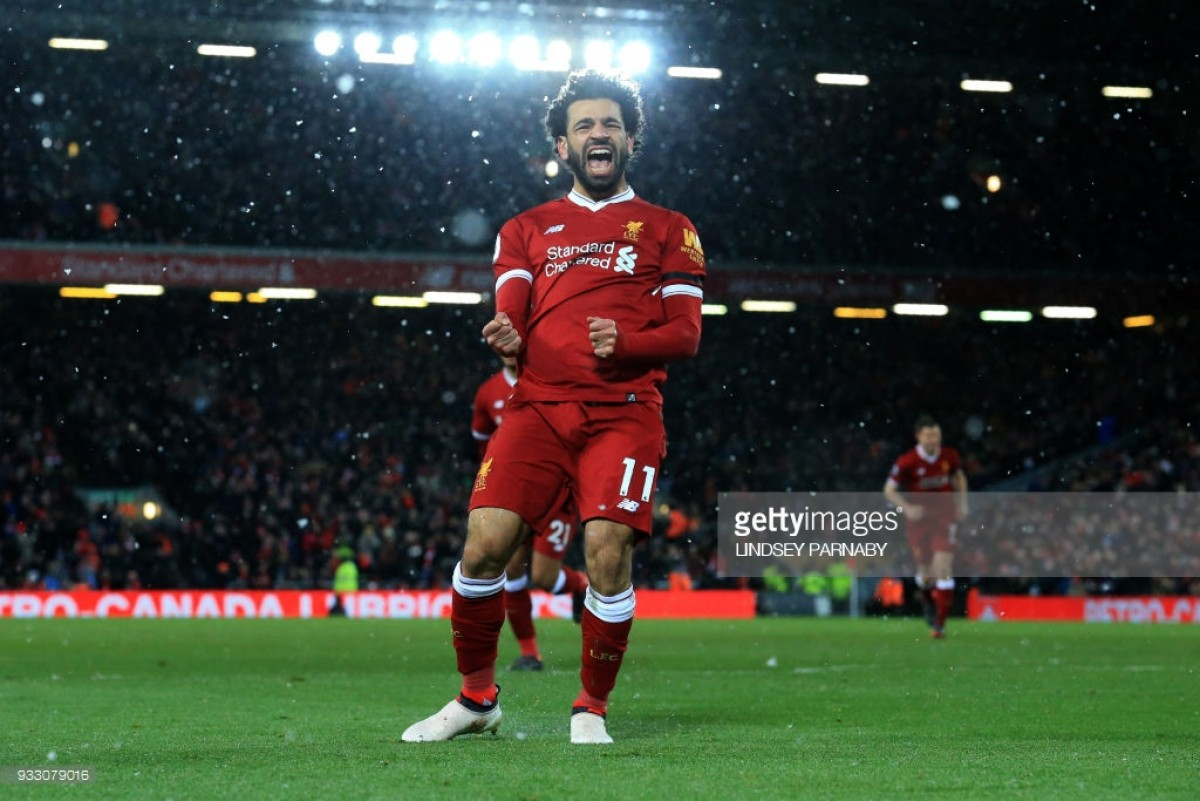 Liverpool 5-0 Watford: Mohamed Salah inspires Reds to win as Anfield endures a blizzard