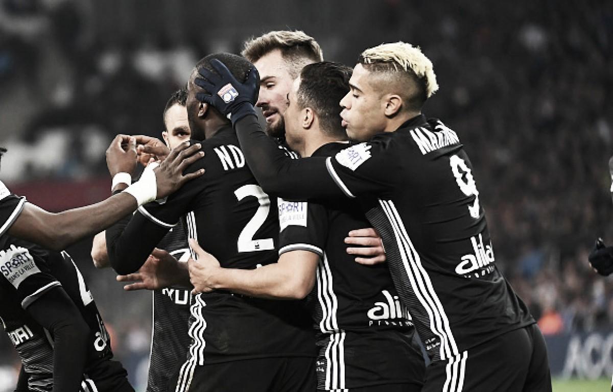 Jogadores do Lyon exaltam vitória diante do Marseille e pregam foco na busca por vaga na UCL