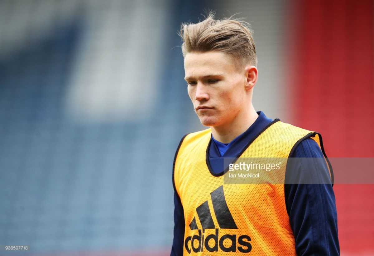 Alex McLeish insists that Scott McTominay is still fully-commited to Scotland despite squad withdrawal
