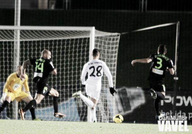 El Castilla despide el 2013 con su cuarta victoria consecutiva