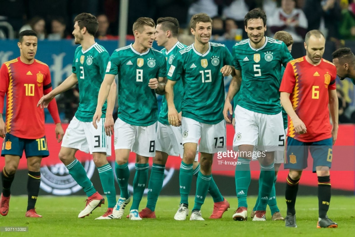 Germany 1-1 Spain: Word Cup hopefuls entertain in draw