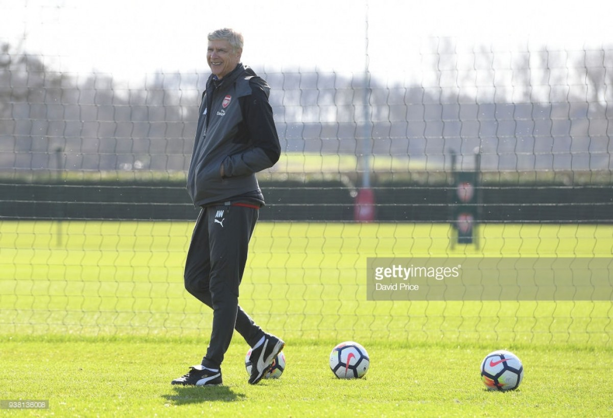 Wenger teases Aubameyang and Lacazette partnership following win
