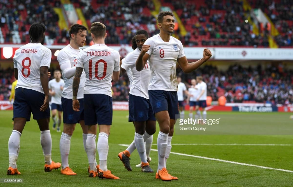 England U21s 2-1 Ukraine U21s: Young Lions roar to victory