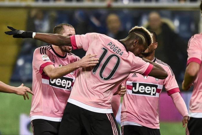 La Juve non si ferma più, la nona sinfonia arriva sul campo della Sampdoria (1-2)