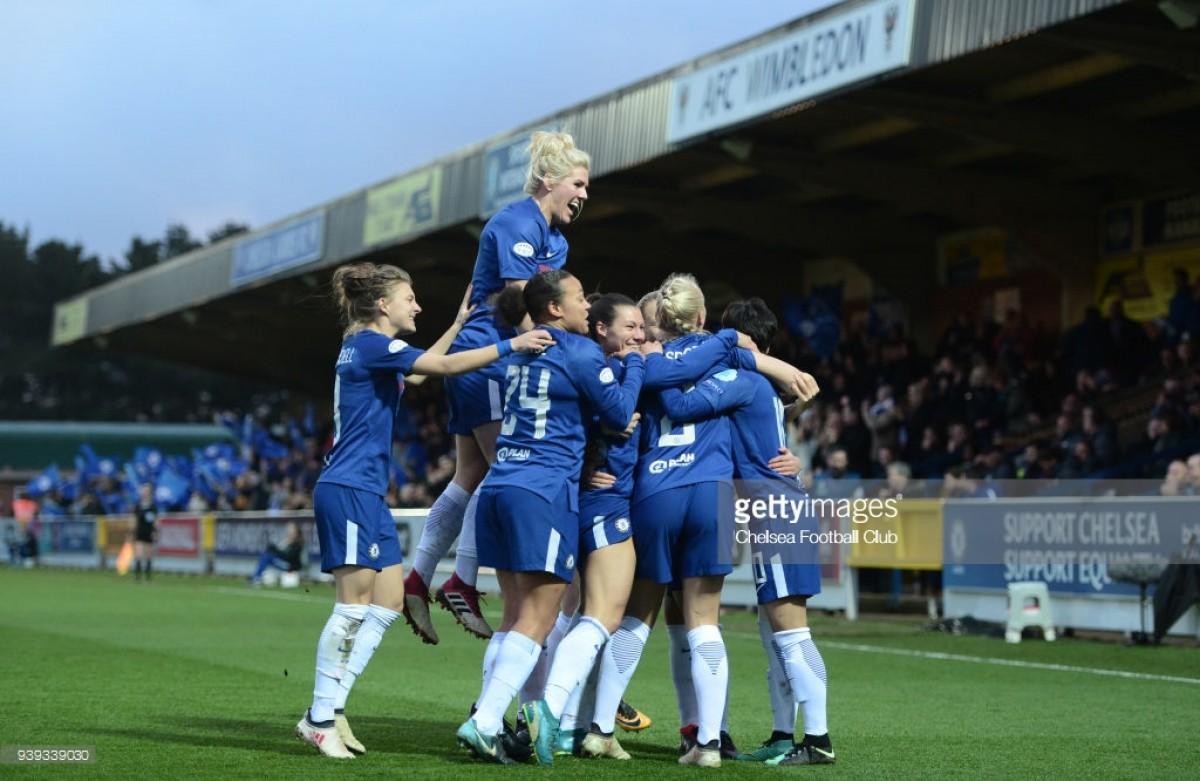 UEFA Women's Champions League: Chelsea 3-1 Montpellier - Blues reach their first European semi-final in style