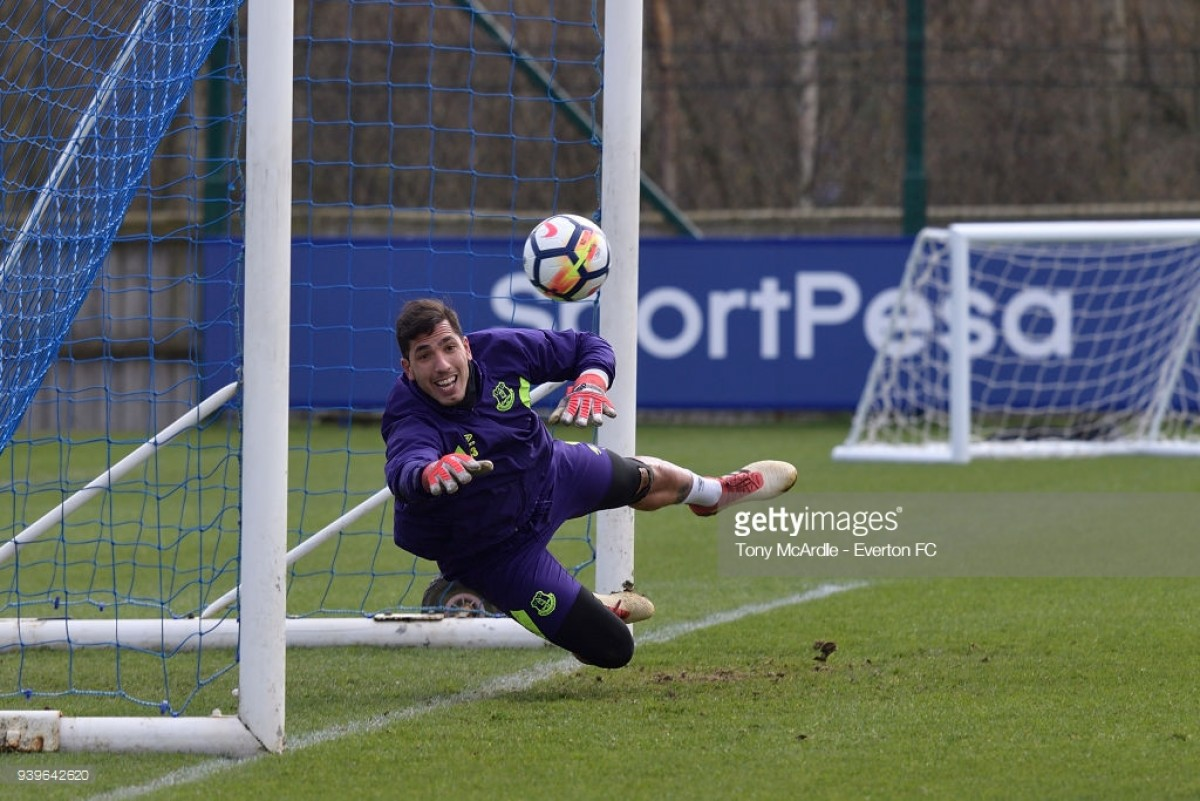Joel Robles to depart Everton as contract expires