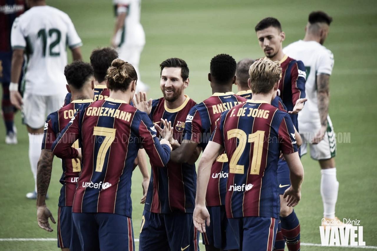 Resumen FC Barcelona 4-0 Villarreal CF en LaLiga Santander 2020/21
