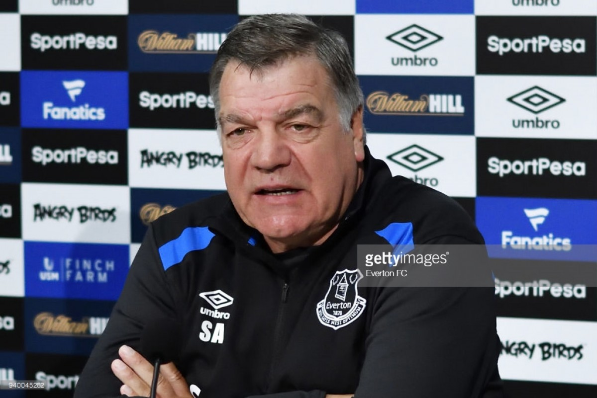 Everton preparing for their 'biggest challenge yet,' says Sam Allardyce ahead of Manchester City clash