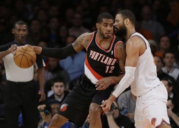I Blazers si impongono sui Knicks al Madison Square Garden