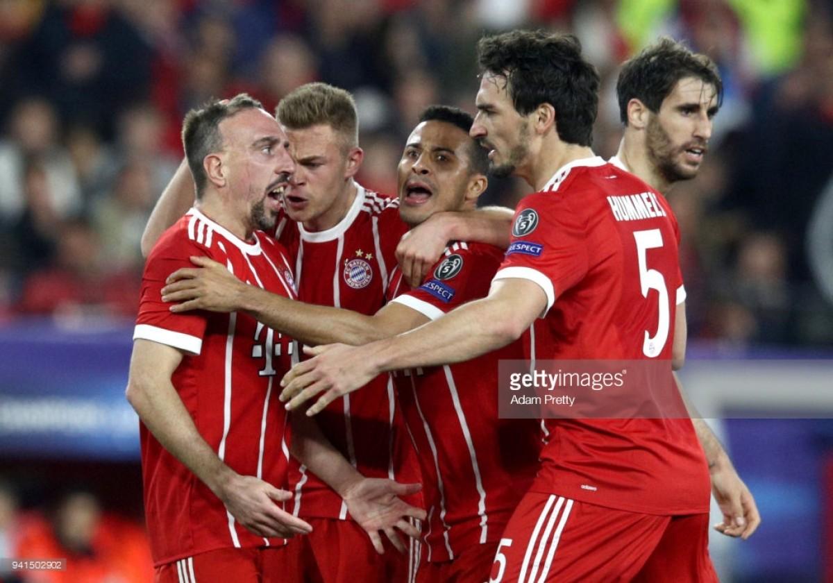 Sevilla 1-2 Bayern Munich: Thiago keeps remarkable JuppHeynckesrun going