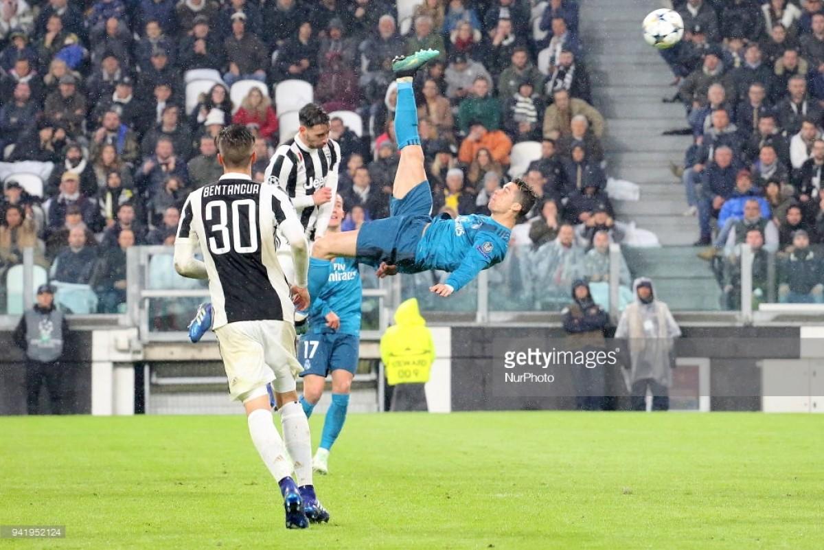 Mundo do futebol rendido ao golaço de Cristiano Ronaldo