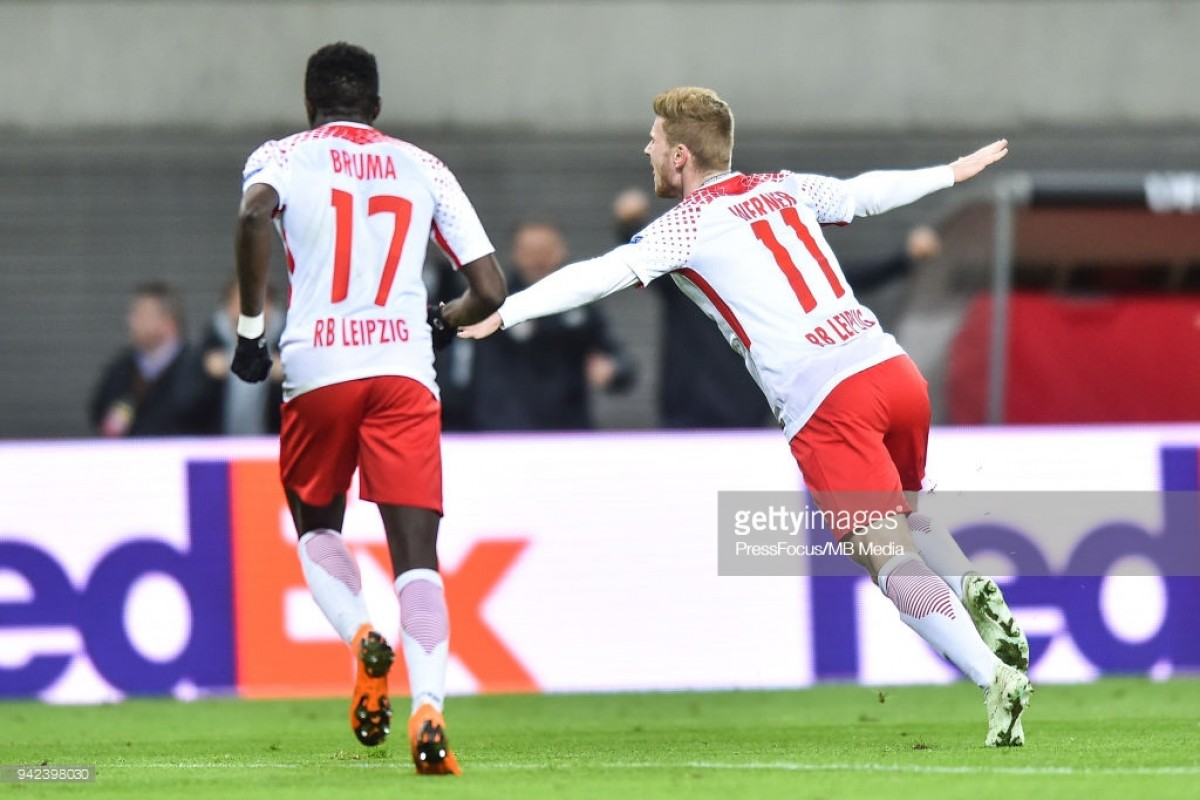 RB Leipzig 1-0 Olympique Marseille: Timo Werner strikes but tie remains in balance