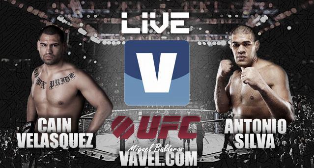 Caín Velásquez vs 'Big Foot' Silva en UFC 160, así lo vivimos