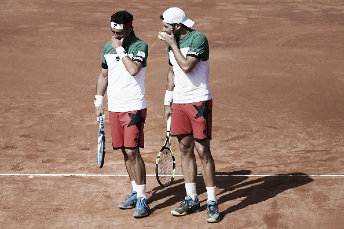 ATP Monte Carlo: Bolelli/Fognini come from behind to knock out the top seeds Kubot/Melo