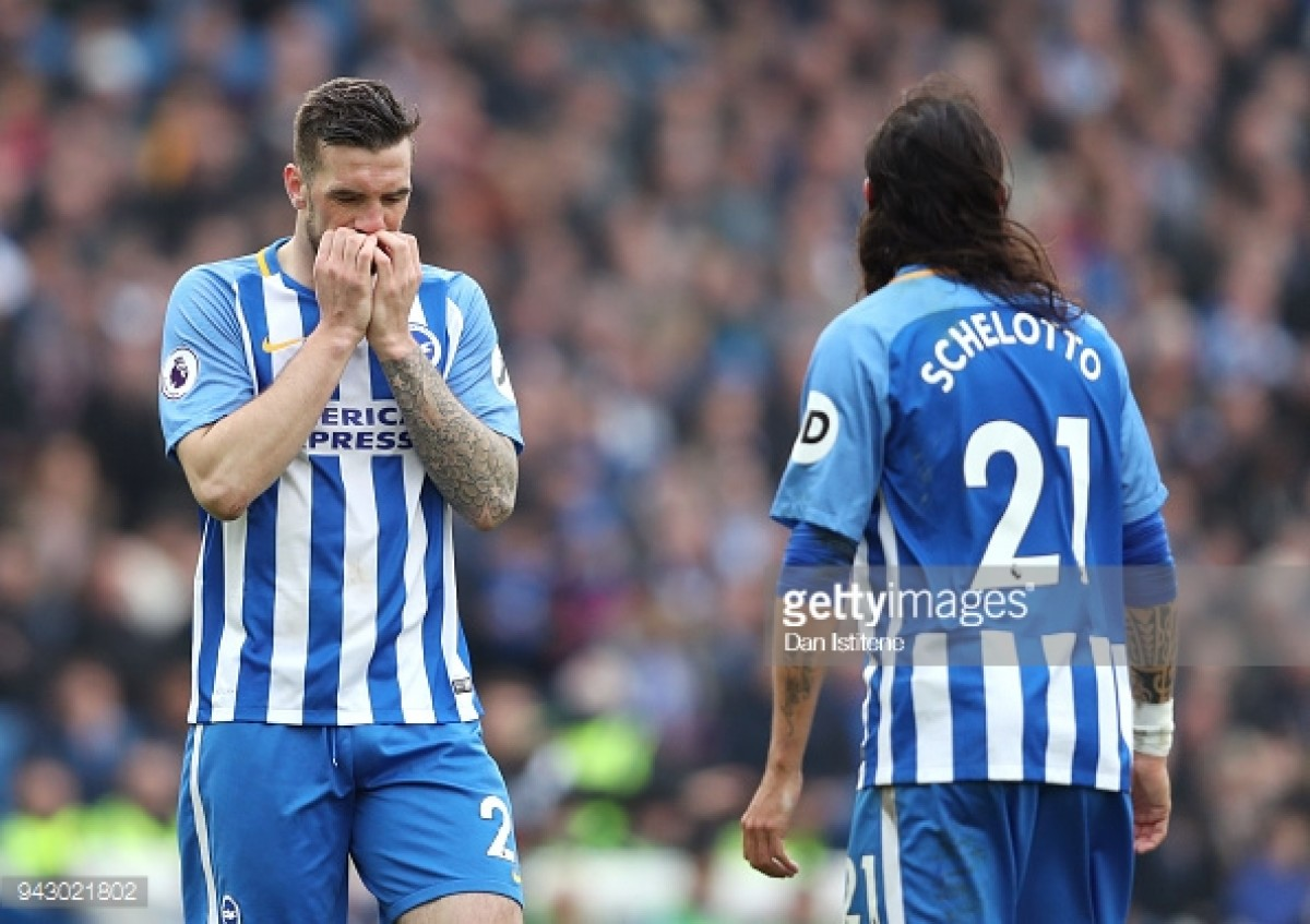 Brighton & Hove Albion 1-1 Huddersfield Town: Seagulls rue missed chances