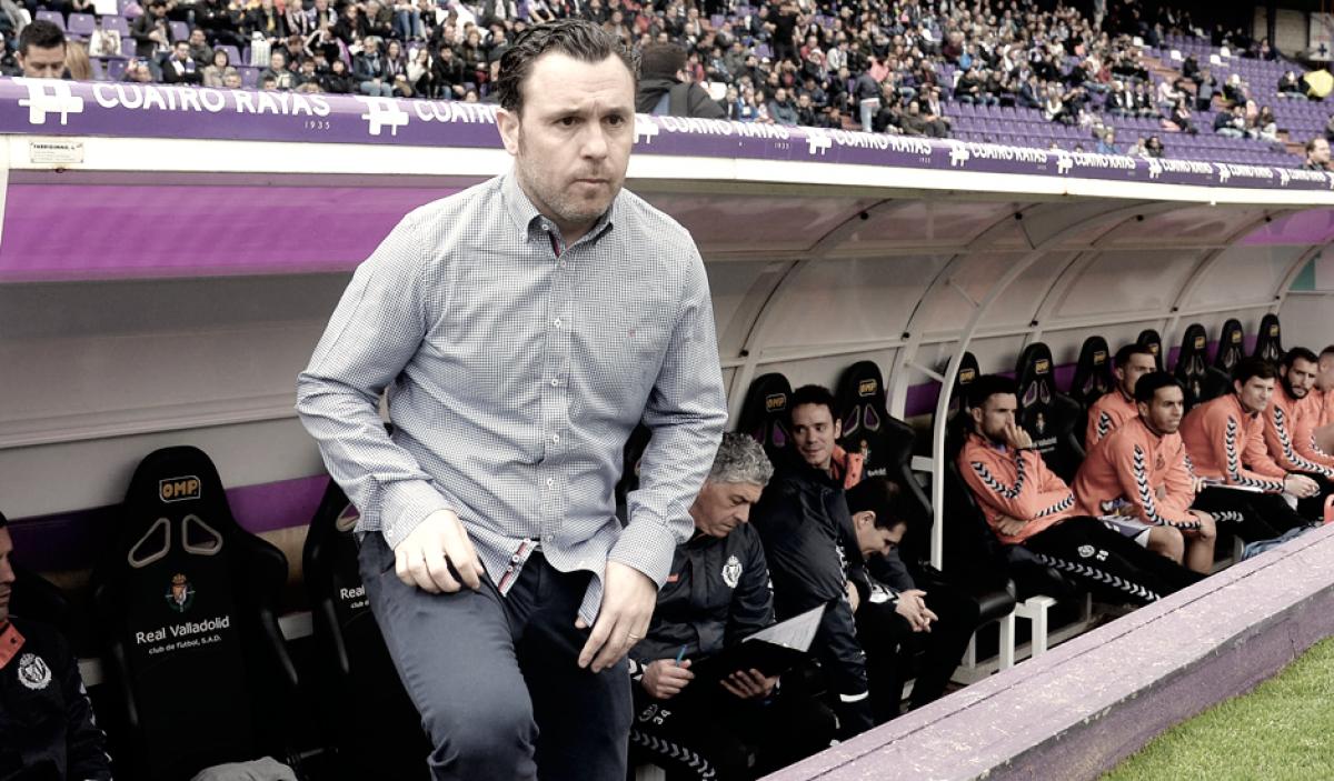 """Sergio González: """"El fútbol no ha sido justo con nosotros"""""""
