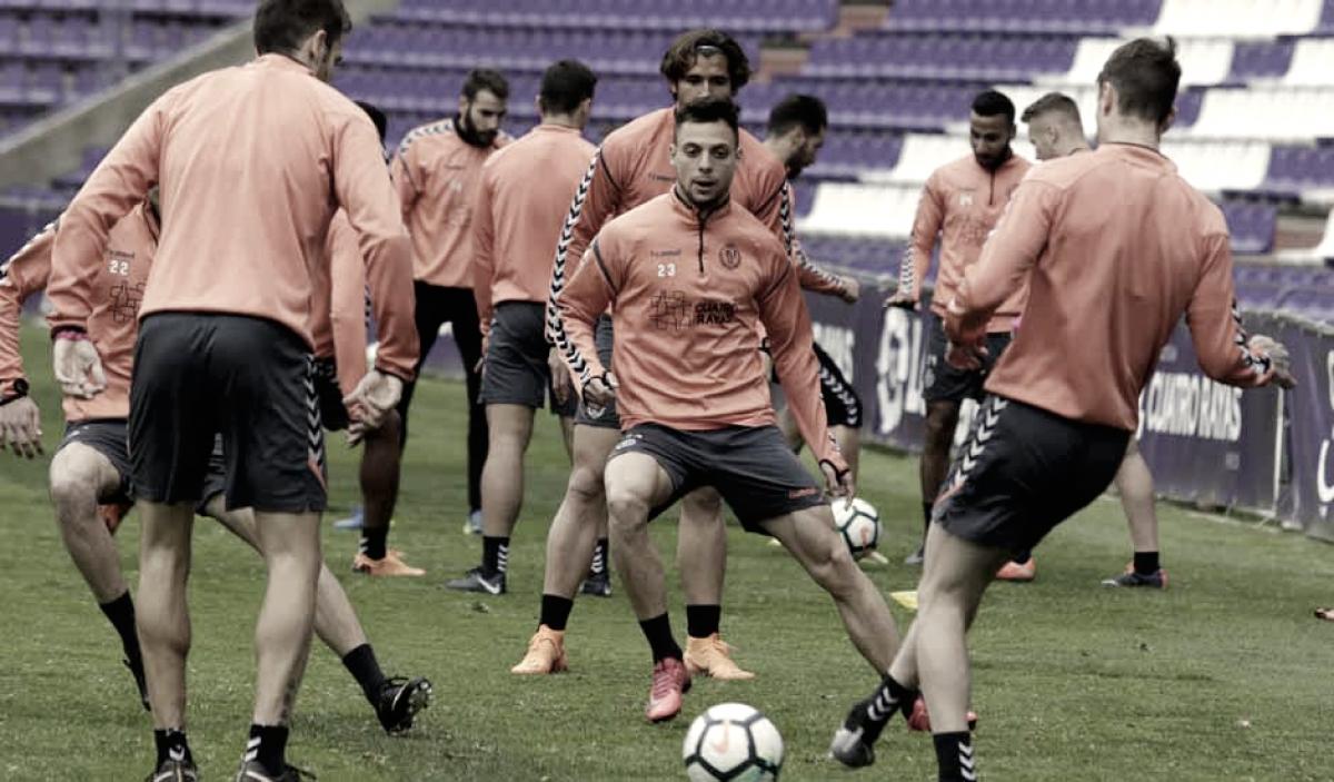 Plan de trabajo semanal para enfrentarse al Real Oviedo