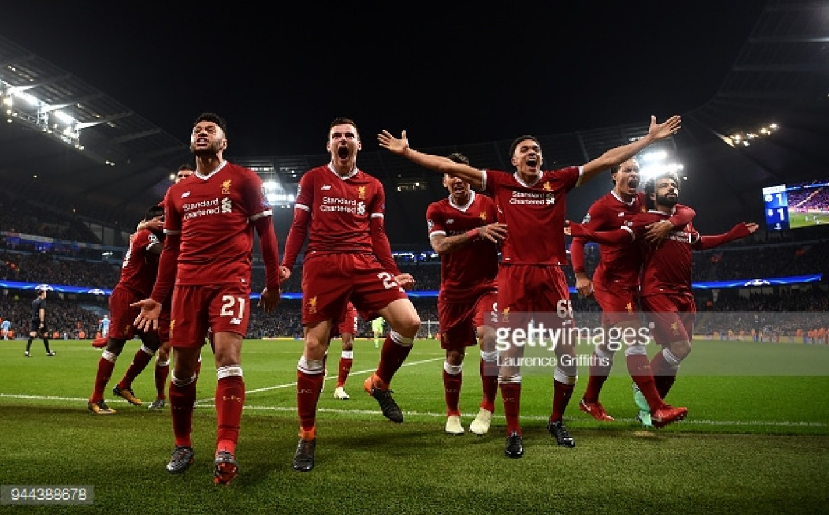 Manchester City (1) 1-2 (5) Liverpool: Reds weather early storm and advance to Champions League semi-finals