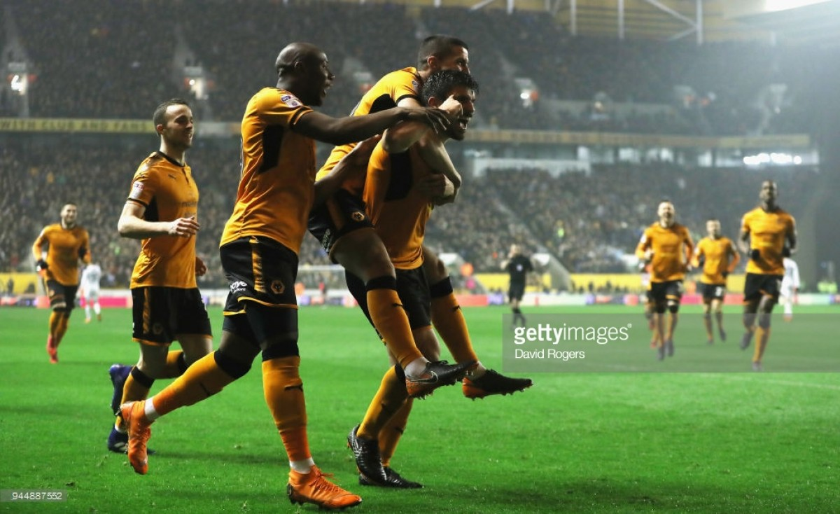Wolverhampton Wanderers 2-0 Derby County: Neves shines again as Wolves march towards promotion