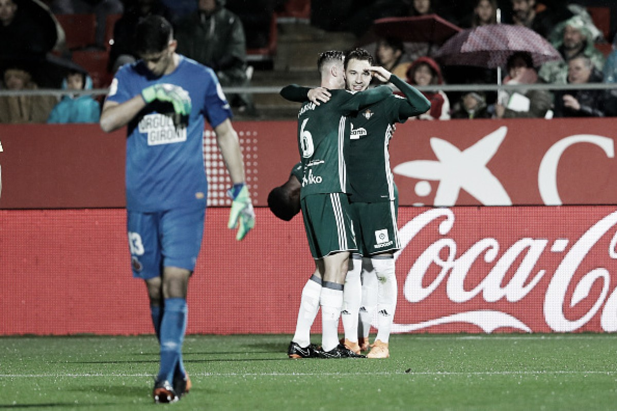 Betis supera Girona e segue firme por vaga na Europa League