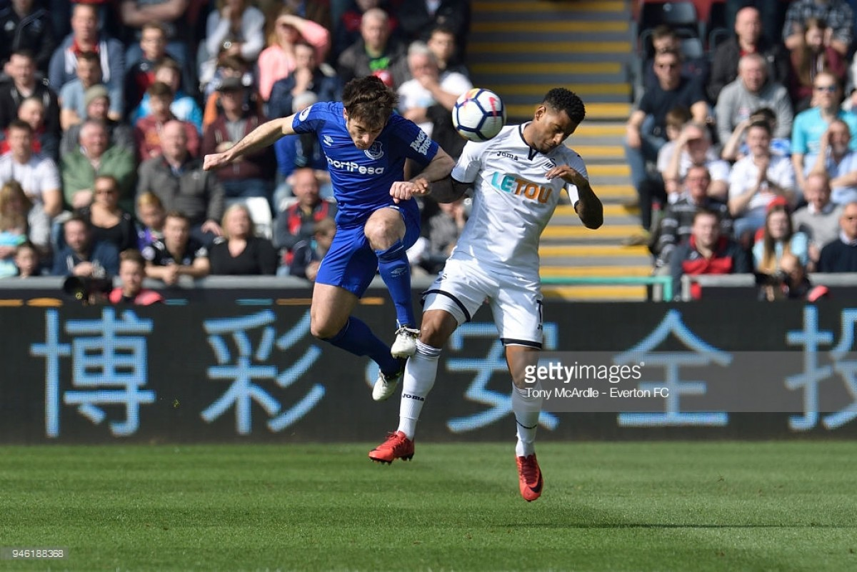 Swansea City 1-1 Everton: Swans battle back to secure vital point against flat Blues