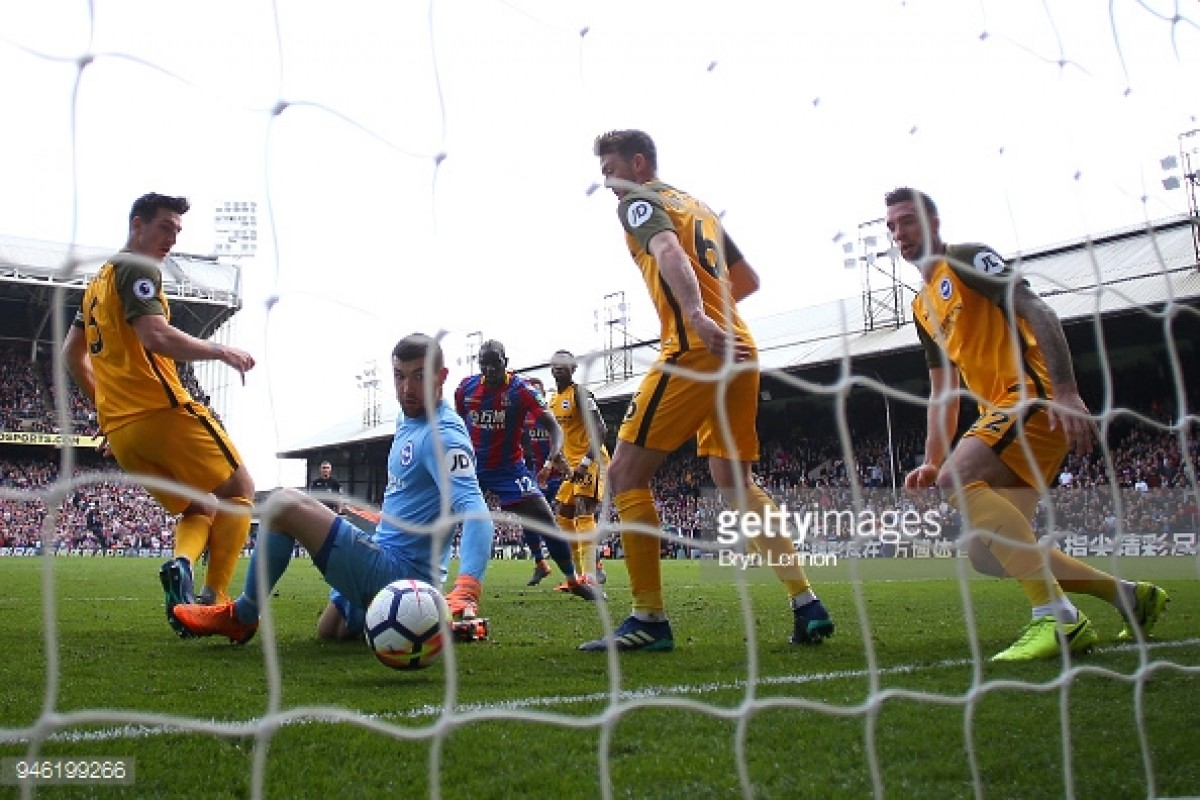 Crystal Palace 3-2 Brighton & Hove Albion: Seagulls player ratings after a narrow defeat in the derby