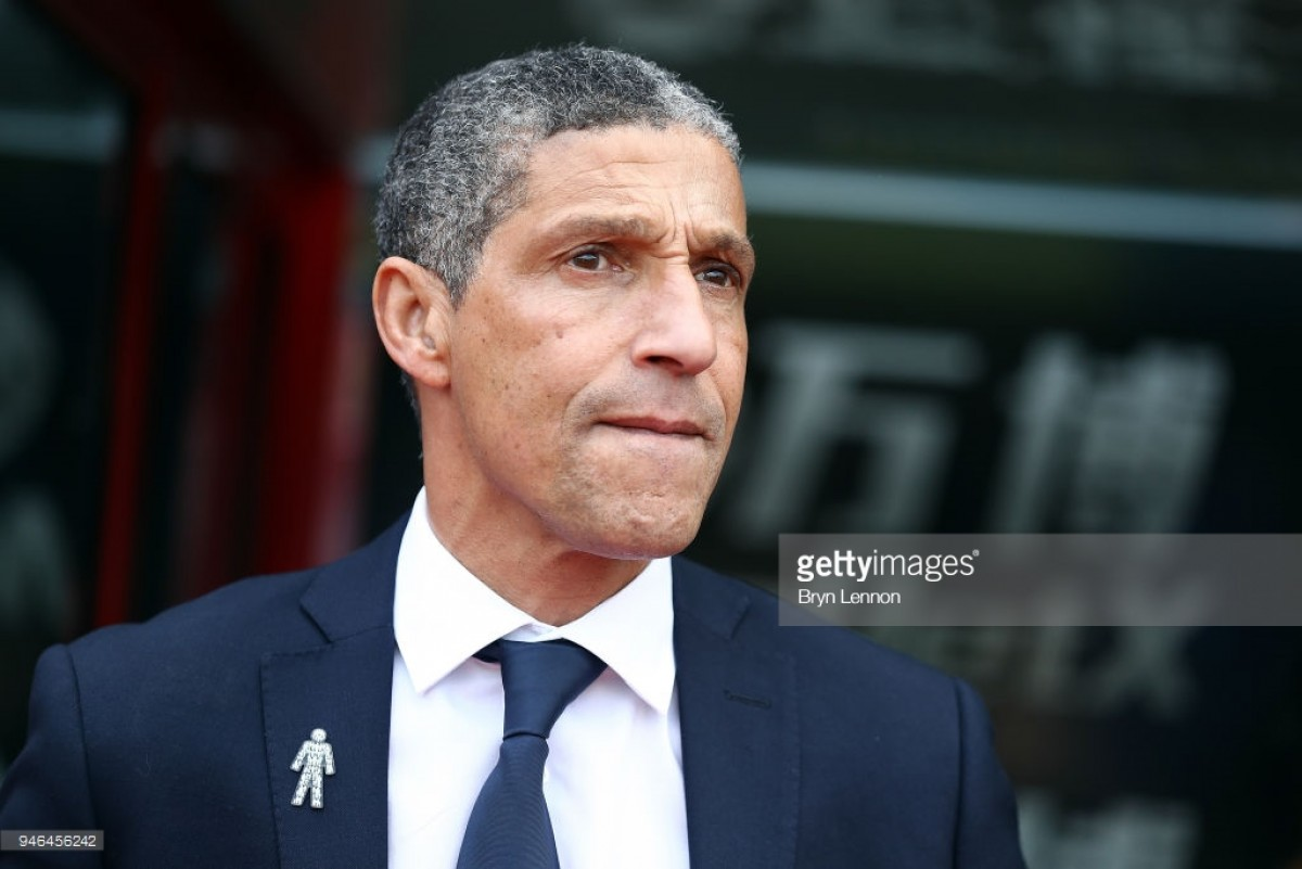 "Chris Hughton: Brighton will have to ""play well"" against ""outstanding"" Spurs"