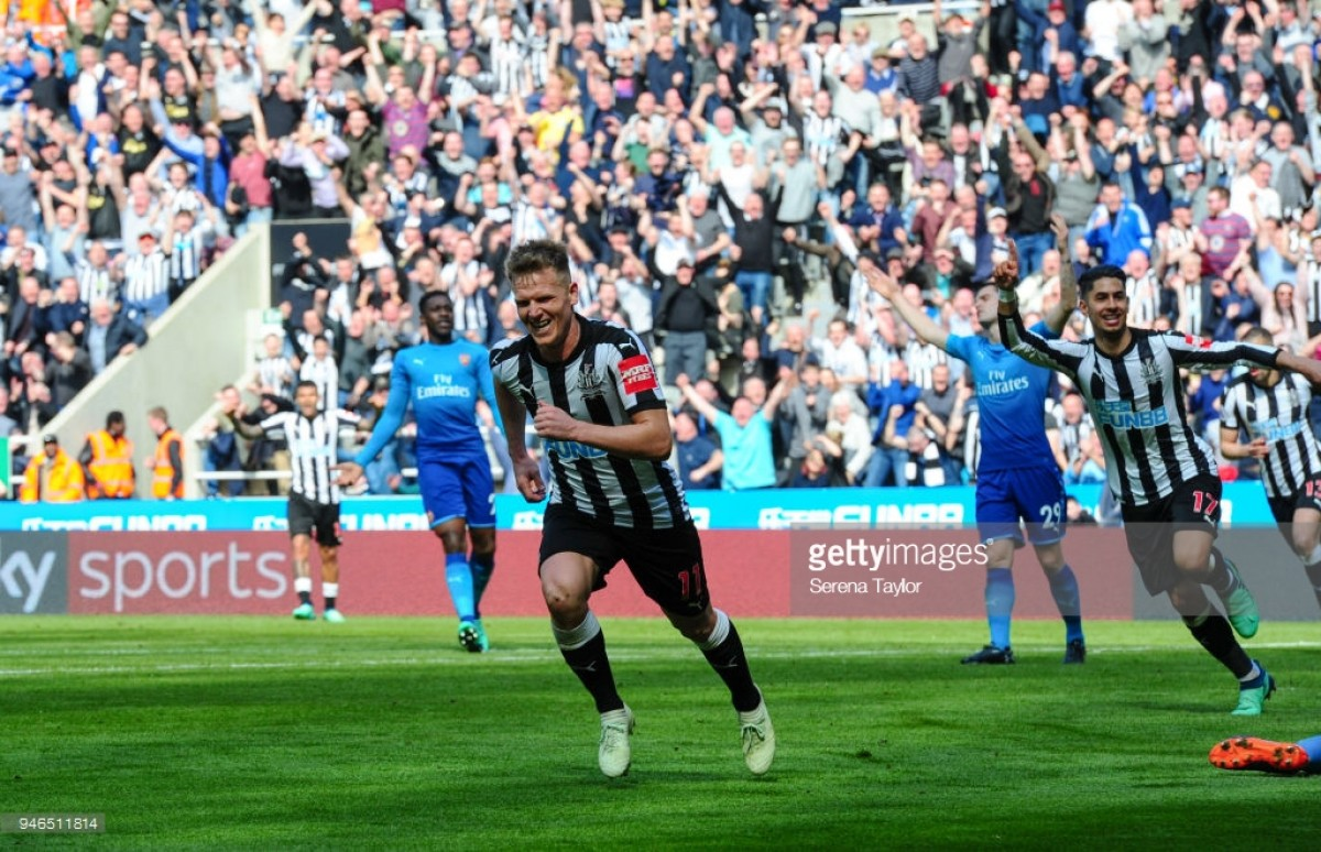 Newcastle United 2-1 Arsenal Magpies comeback comdemns Gunners to yet another away league loss