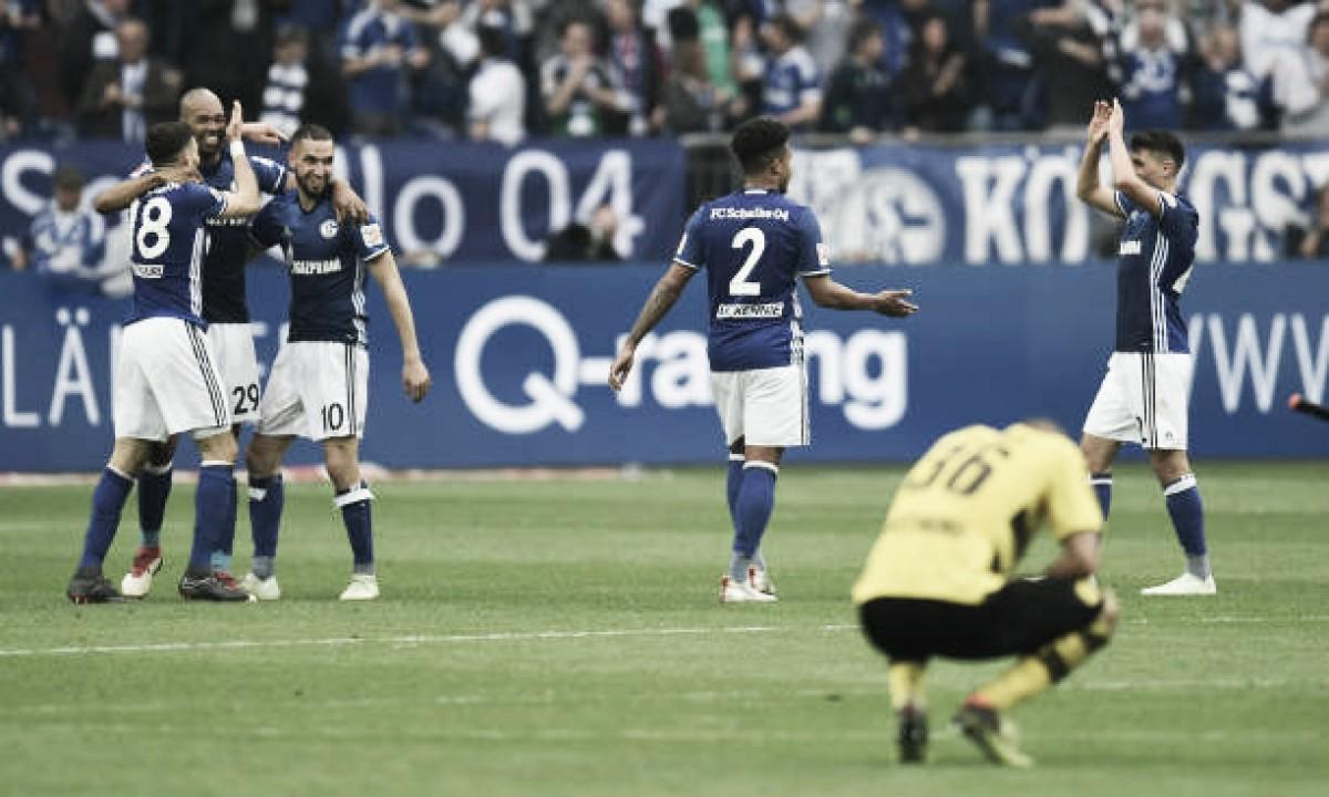 Schalke 04 leva a melhor no Revierderby e se aproxima de vaga na Uefa Champions League