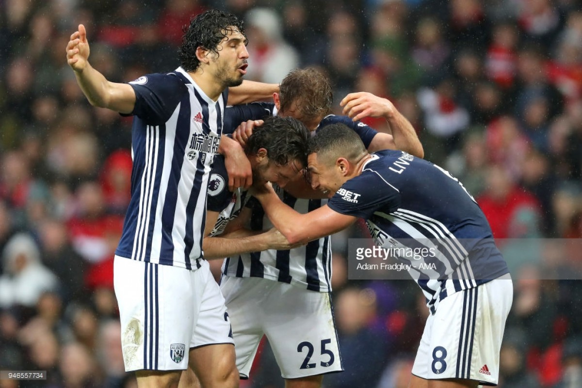 Manchester United 0-1 West Bromwich Albion: Lowly Baggies secure shock to officially confirm City as champions