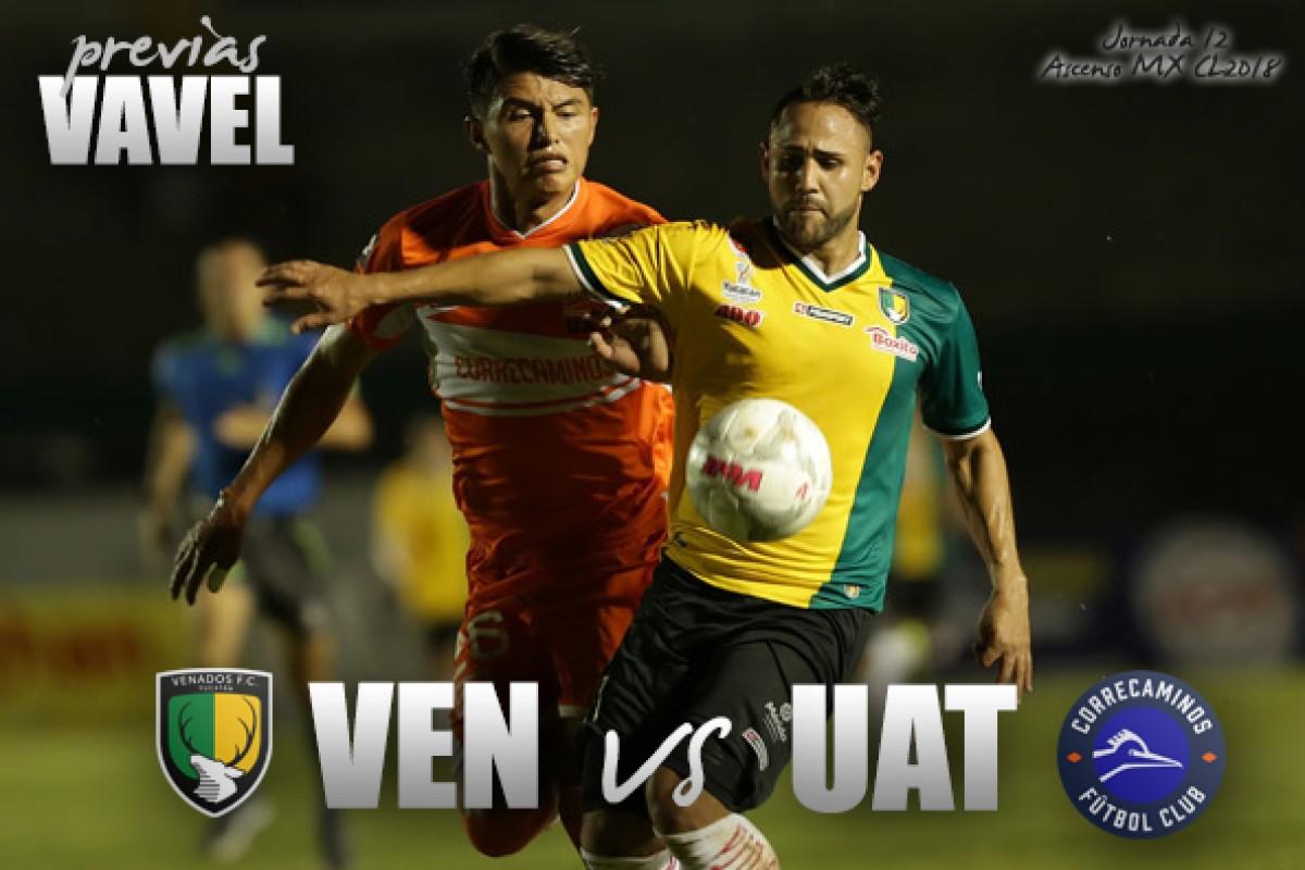 Previa Venados - Correcaminos: inicia la etapa final del Clausura 2018