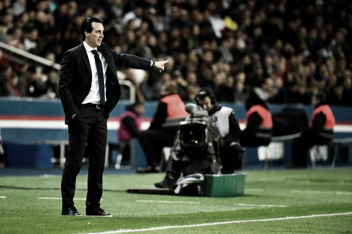 """Unai Emery exalta jogadores do PSG após título francês: """"Deram seu máximo por 90 minutos"""""""