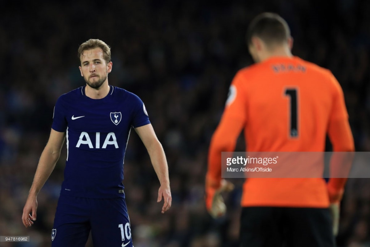 Brighton & Hove Albion 1-1 Tottenham Hotspur: Spurs player ratings from the South Coast