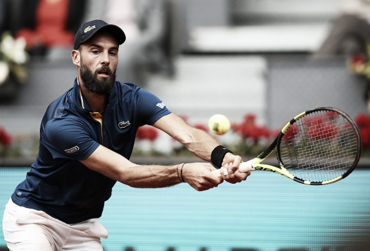 ATP Madrid: Benoit Paire sends 16th seed and fellow Frenchman Lucas Pouille out in straight sets