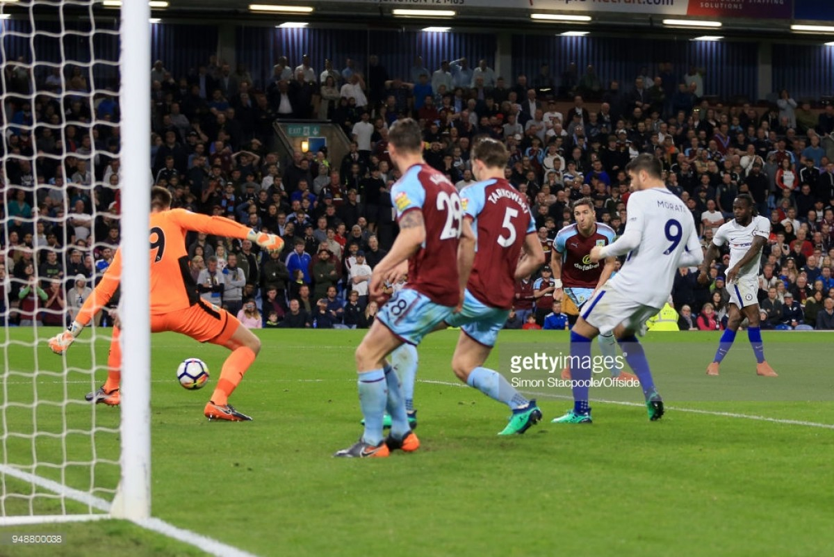 Burnley 1-2 Chelsea: Clarets falter against inspired visitors