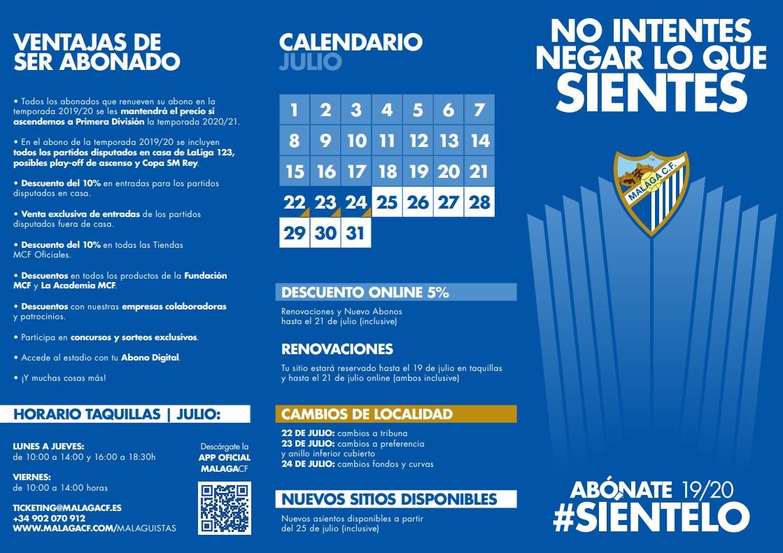 Campaña de Abonados del Málaga 19/20: No intentes negar lo que sientes