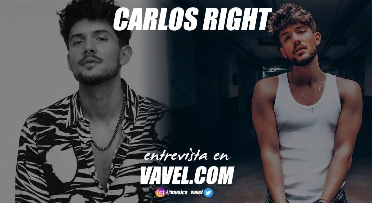 """Entrevista. Carlos Right: """"Mi mayor logro ha sido poder dedicarme a la música"""""""